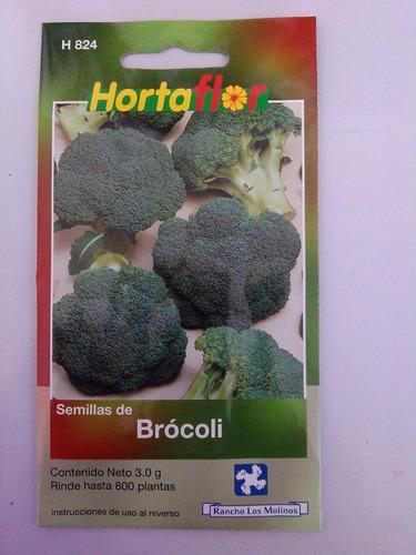 800 semillas de brócoli