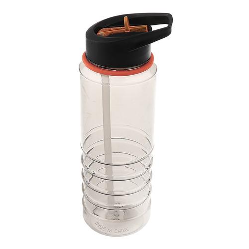 800ml bpa exento de plástico agua botella taza capirotazo p