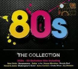 80's the collection varios interpr importado cd x 3 nuevo