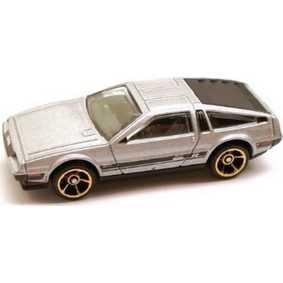 81 delorean dmc 12 fast than ever 2011  hot wheels 1:64