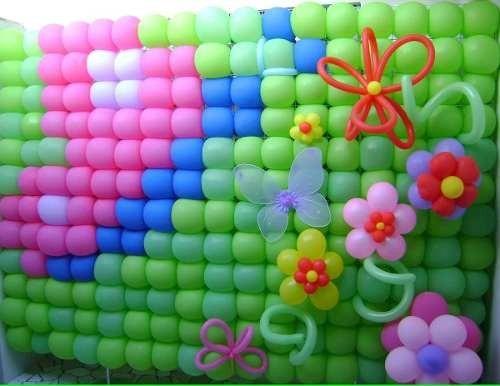 81 tela mágica pds tdb balões painel bexigas + presilhas cp