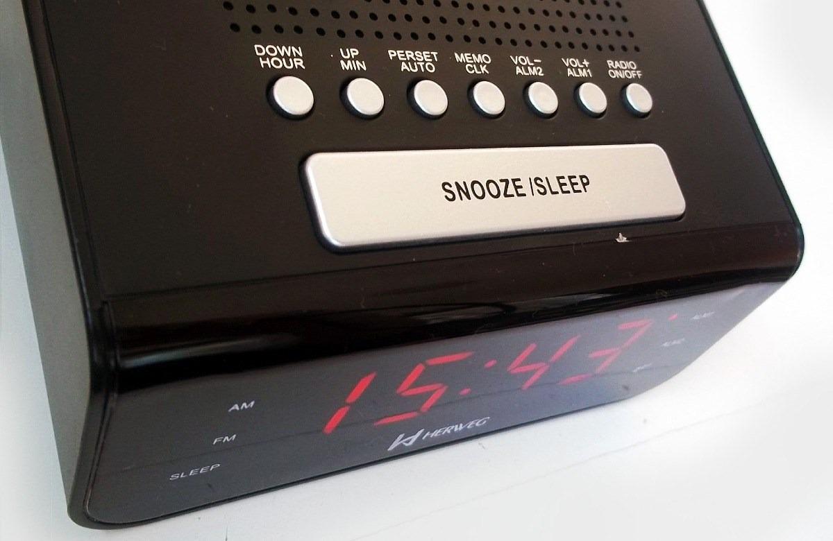 11fceeaf2ce 8103 - rádio am fm relógio despertador digital led 2 alarmes. Carregando  zoom.