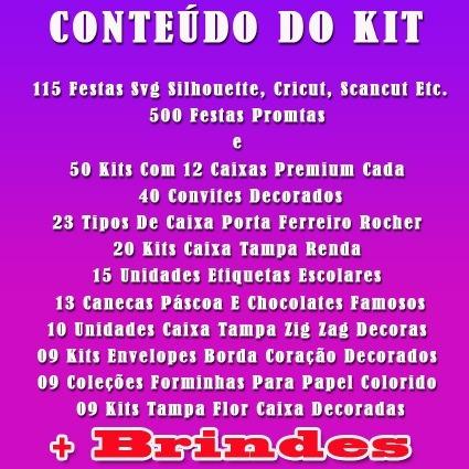 f67a755cf92cc 815 Festas Prontas E Arquivos De Corte Silhouette + 70 Gigas - R  39 ...