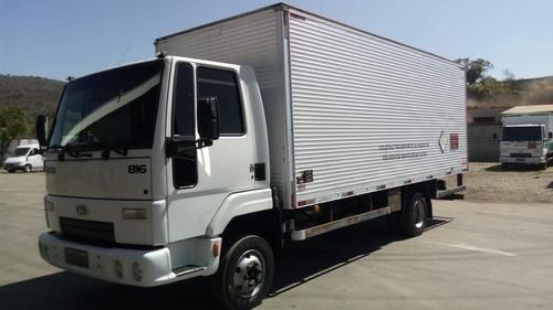 816 cargo  - branca - 2012/13 - baú - r$ 76.900,00
