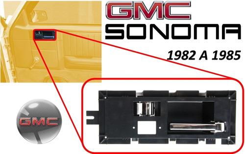 82-85 gmc s15 sonoma manija interior cromada lado derecho