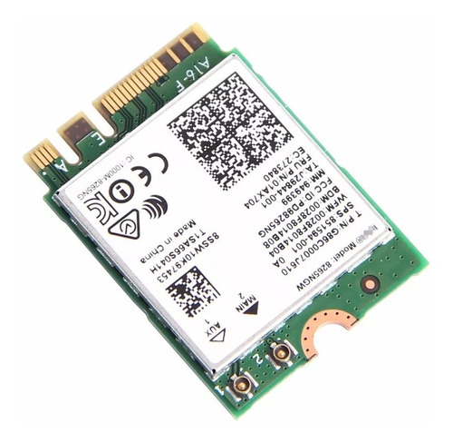 8265ngw ac dual band intel wireless-ac 867mbps bluetooth 4.2