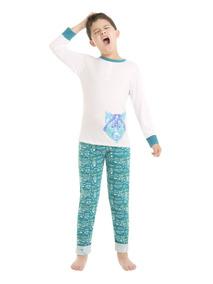 aadae1c24d 8293 Pijama Pantalon Niño Ilusion Algodon Playera Comoda