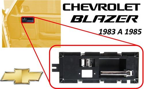 83-85 chevrolet blazer manija interior cromada lado derecho