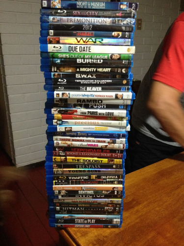 83 blu-rays !!! vendo mi coleccion en bluray