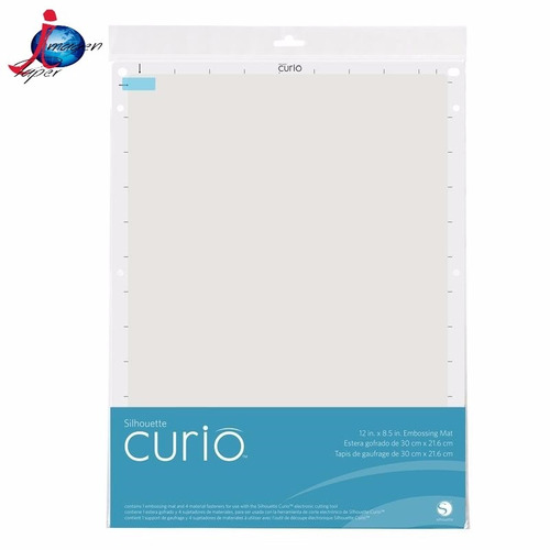 8.5 in. x 12 in. silhouette curio¿ embossing mat