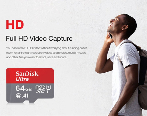 852502773 sandisk ultra 256gb microsdxc uhs-i sob encomenda