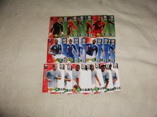 86 cartas adrenalyn fifa 2010 de panini...