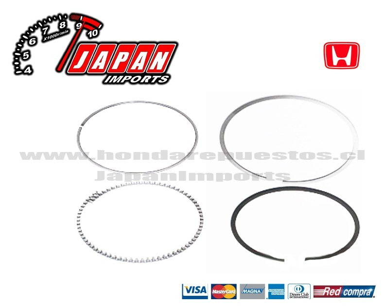 86mm Honda K20 - Anillos De Piston Jdm - Japanimports