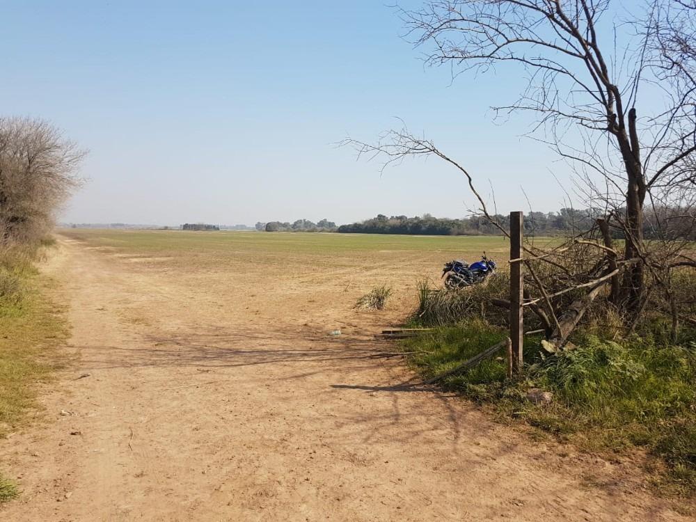 87 has campo: gran lugar frente buen ayre y bajada colectora