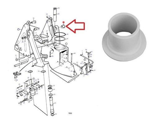 872096 bucha plastica garfo h rabeta volvo penta dp dpx sp