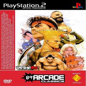 89 Arcade Classics (89 Jogos Em 1) Ps2 Desbloqueado Patch