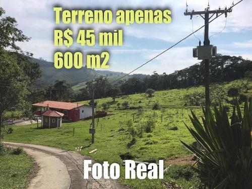 8b  compre seu terreno de 600m pra chacara