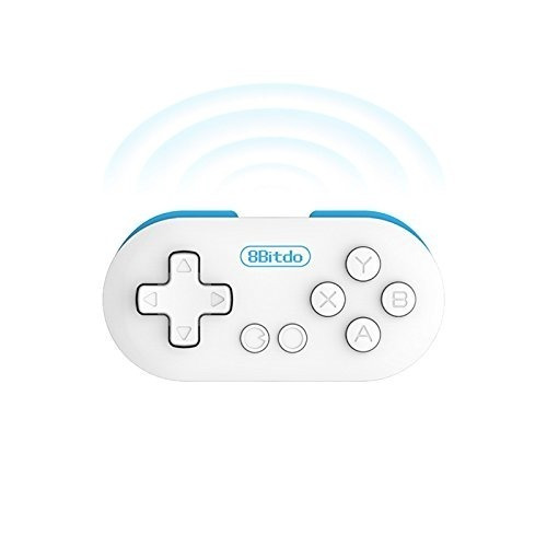 8bitdo cero mini gamepad, controlador de juegos inalámbrico