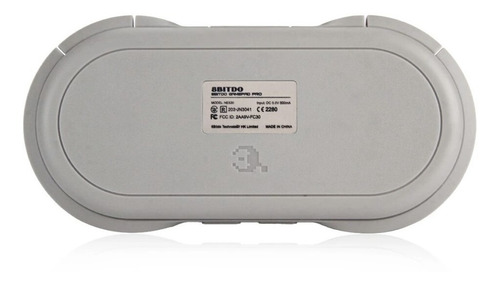 8bitdo® n30 pro controle bluetooth p/ smartphone analógico