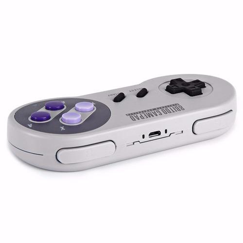 8bitdo snes30 - controle joystick bluetooth sem fio