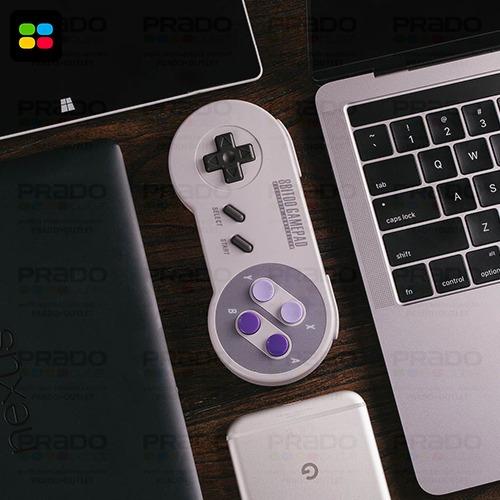 8bitdo® snes30 sfc30 controle + xtander suporte smartphone!
