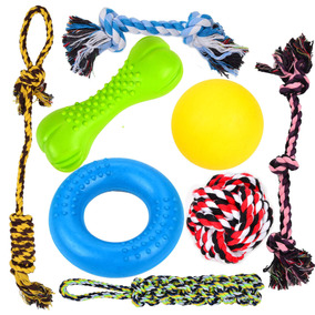 Value Perro Chew Juguetes Toys Perrito 8 Durable Pack CxerQdBoW