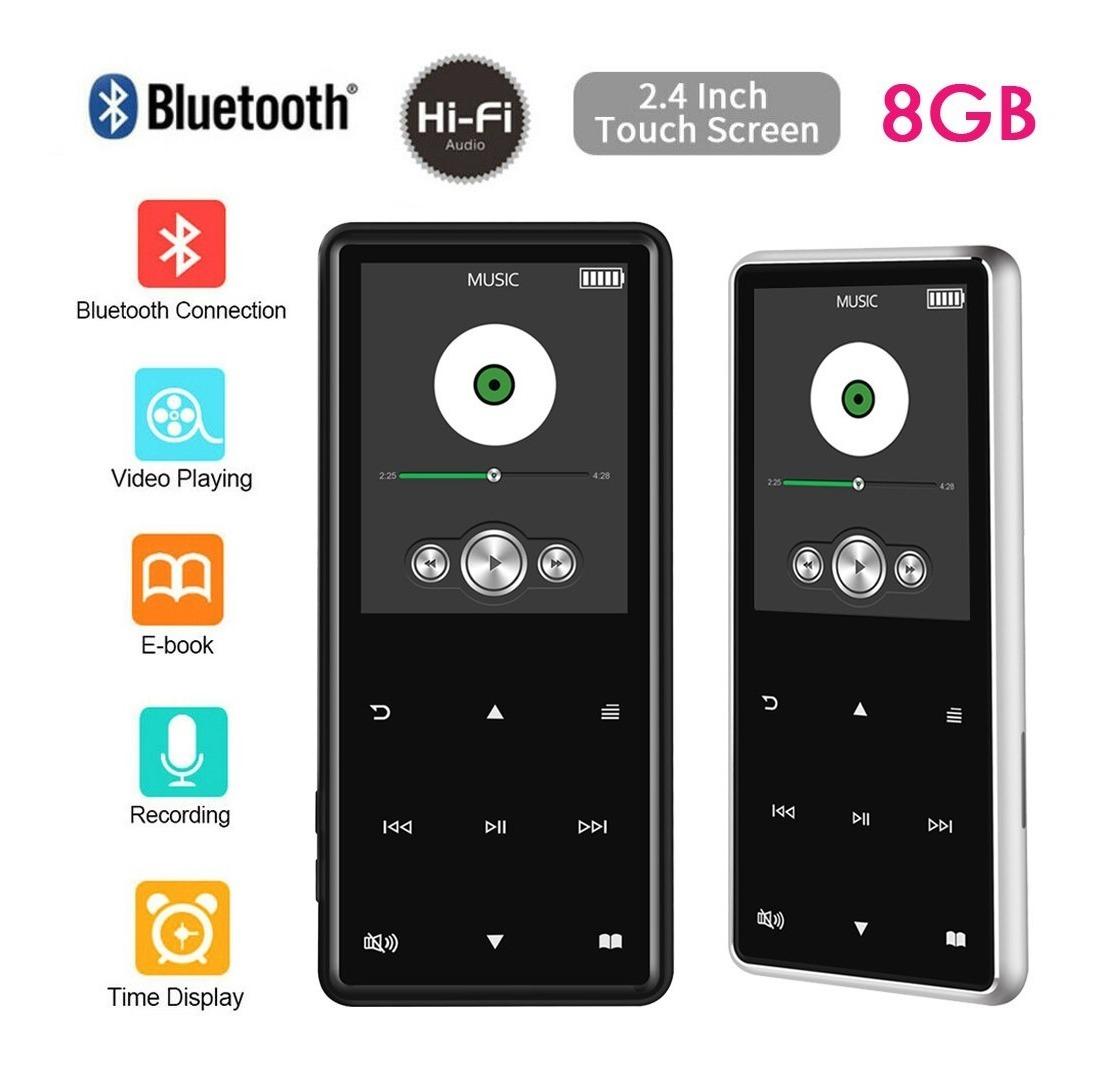 ccd067297 8gb 100h Bluetooth Hifi Reproductor De Mp3 Mp4 Walkman Graba ...