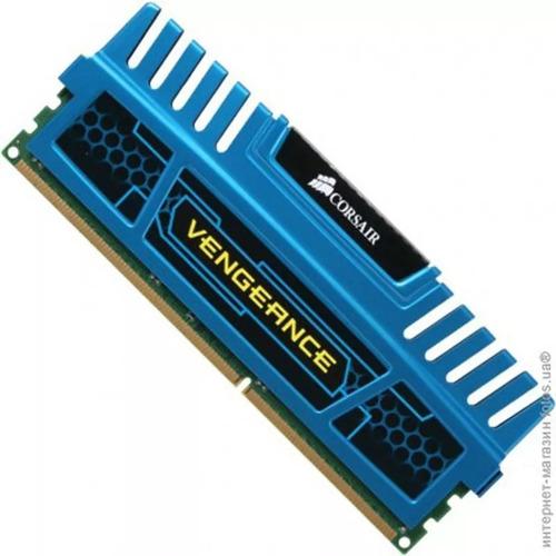 8gb memória corsair ddr3 1600mhz vengeance (2x4gb)