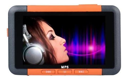 8gb slim mp3 mp4 mp5 music player com 4.3?? filme de vídeo d