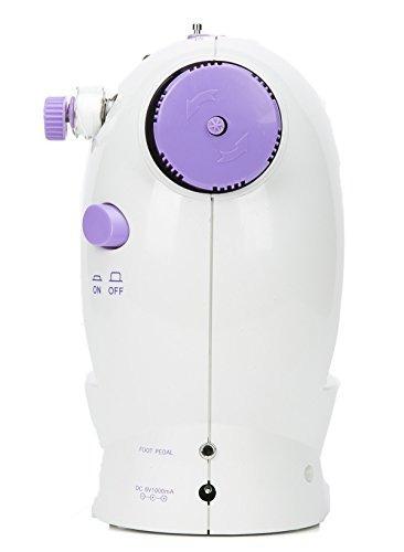 8milelake mini maquina de coser de 2 velocidades