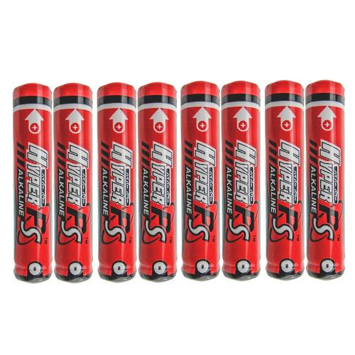 8pcs aaaa alcalinas solo uso baterías 1.5v lr61 mn2500 e96 g