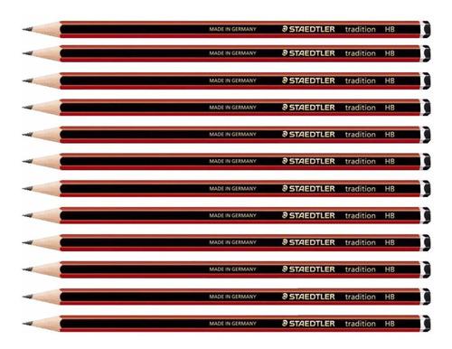 8x lápis graduado profissional hb 2b 4b 6b staedtler traditi