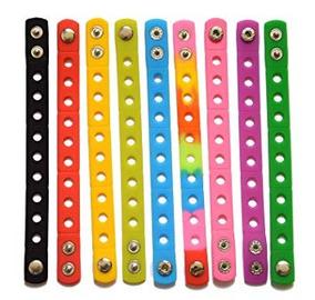 4d6d37a36449 9 Colores 7 Pulgadas Pulseras De Silicona Pulseras Para Kid
