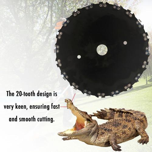 9  cortador de gramado 230mm 20 teeth circular serra teia el