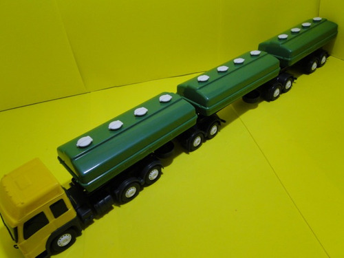 9 eixos tanque rodotrem tritrem 1/32 comp87cm larg8,5cm