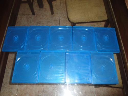 9 estuches de blu ray en buen estado