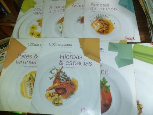 9 fasciculos de cocina casera de gato dumas