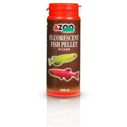 9 in 1 fluorescent fish pellet 120ml/53g azoo alimento