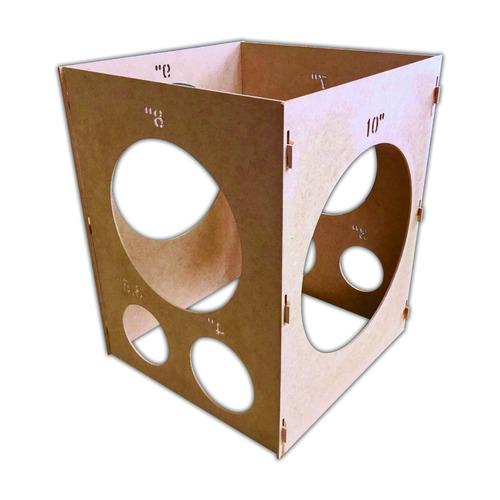 9 kits tela mágica + 1 medidor para balões + 4 bases suporte