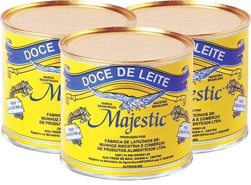 9 lata de doce de leite majestic o melhor de minas gerais