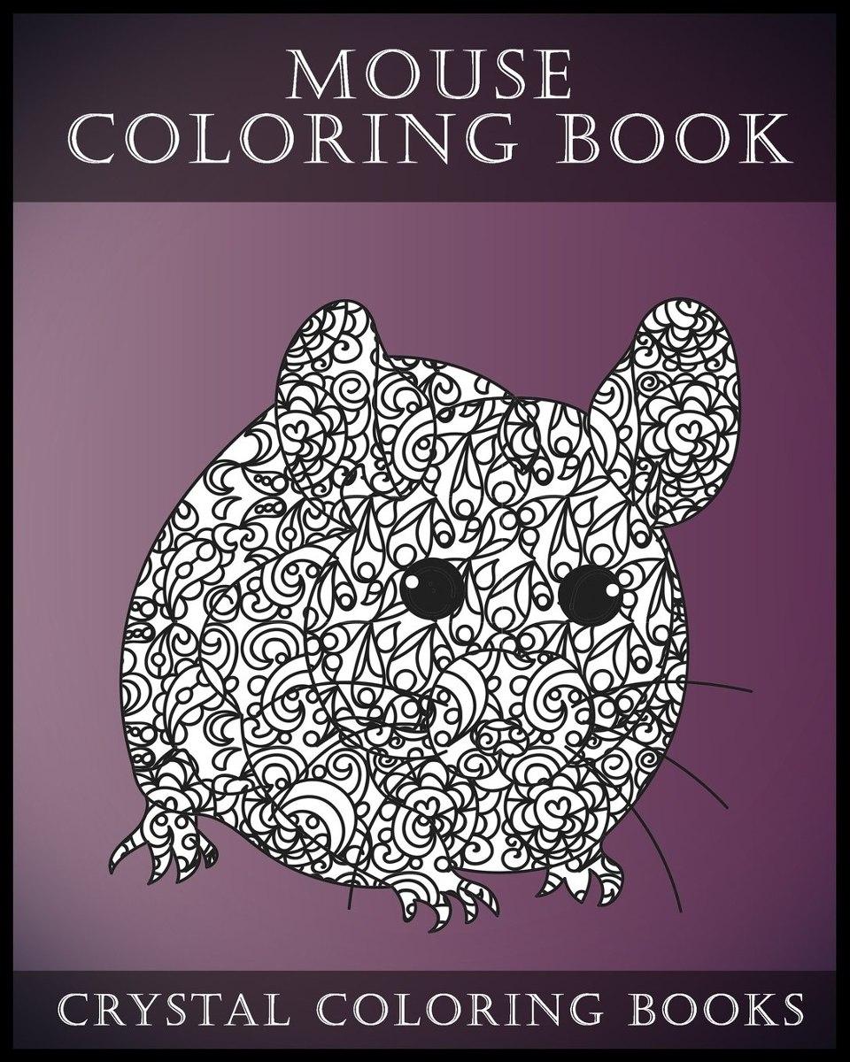 9: Libro De Colorear Del Ratón Para Adultos: Un Libro De Col ...