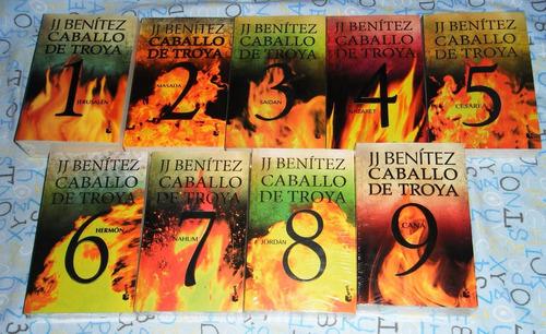 9 libros caballo de troya saga j j benitez + envío gratis