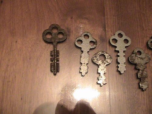 9 llaves planas