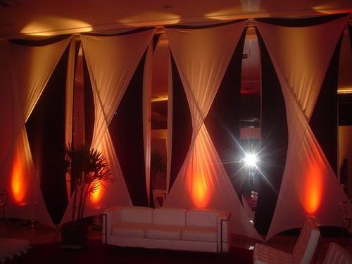 9 metros tecido para decoração malha lycra tensionada