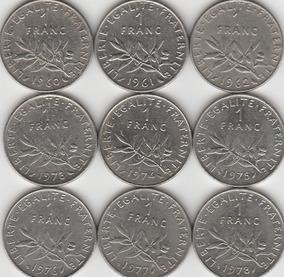 Moeda De 1 Franc 1960 Fran A Moedas No Mercado Livre Brasil