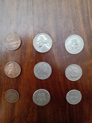9 moedas estrangeiras
