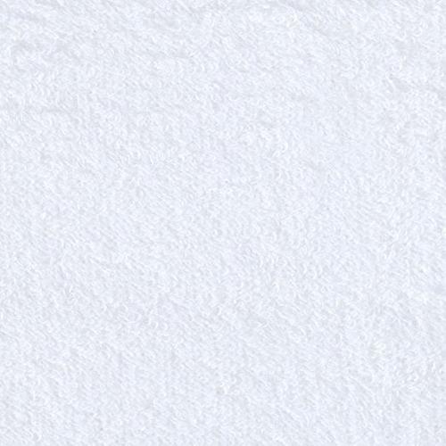 9 oz la comodidad del algodón del paño de terry tela blanca