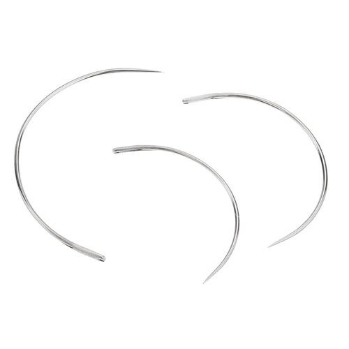 9 piezas de reparación de agujas de coser curvado threader