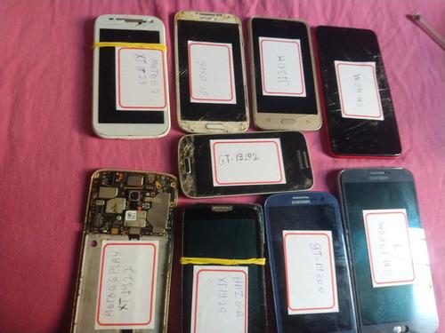 9 placas de celulars samsung e motorola
