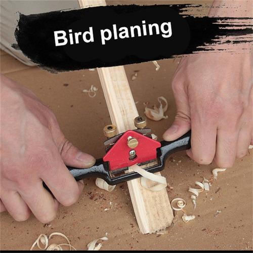 9 polegada de aço planer pássaro pequeno mão ferro carpintei